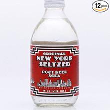 Root Beer Soda 24 of 10 OZ By ORIGINAL NEW YORK SELTZER