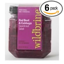 Red Beet Red Cabbage 6 of 18 OZ By WILDBRINE