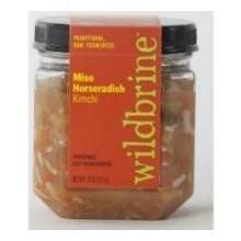 Horseradish Kim Chi 6 of 18 OZ By WILDBRINE