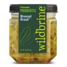 Probiotic Brussel Kraut 6 of 18 OZ By WILDBRINE
