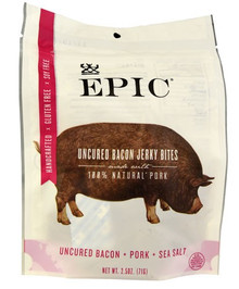 Uncured Hickory Bacon 8 of 2.5 OZ By EPIC