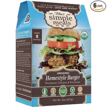 Homestyle Burger 6 of 8 OZ By KIM`S SIMPLE MEALS