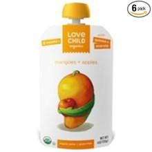 Mangoes & Apples 6 of 4 OZ By LOVE CHILD ORGANICS