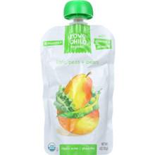 Kale Peas & Pears 6 of 4 OZ By LOVE CHILD ORGANICS