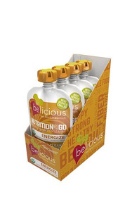 Energize Dairy/Soy Free 4 of 4 OZ  By BELICIOUS