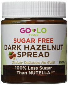 Dark Hazelnut Spread SF 6 of 11 OZ By GO LO