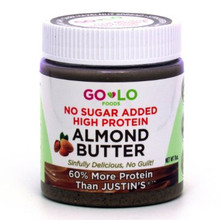 Almond Butter No Sgr High Prtn 6 of 11 OZ By GO LO