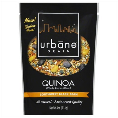 Southwest Black Bean 6 of 4 OZ By URBANE GRAIN