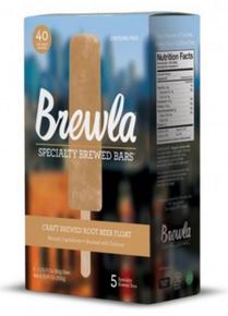 Pop,Root Beer Float 6 of 5 of 1.75 OZ By BREWLA