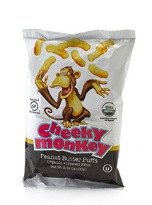 Puffs Peanut Butter 12 of 2.12OZ By CHEEKY MONKEY