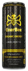 RTD Lemon Green Tea 12 of 12 OZ By ENERBEE