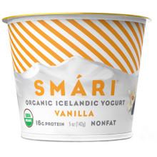 Vanilla NF 12 of 5 OZ By SMARI ORGANICS