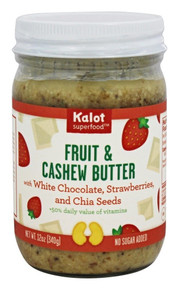 White Choc,Straw,Chia Seeds 6 of 12 OZ By KALOT