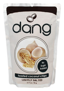Lightly Salted Unsweetened 12 of 3.17 OZ By DANG