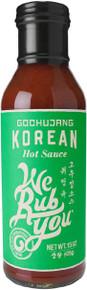 Gochujang Korean Hot Sauce 6 of 15 OZ By WE RUB YOU