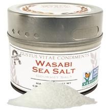 Wasabi Sea Salt 8 of 3.1 OZ By GUSTUS VITAE CONDIMENTS