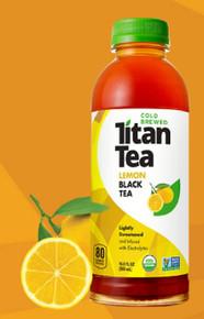Lemon Black Tea 12 of 16.9 OZ By TITAN TEA