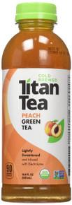 Peach Green Tea 12 of 16.9 OZ By TITAN TEA