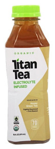 Honey Green Tea 12 of 16.9 OZ By TITAN TEA