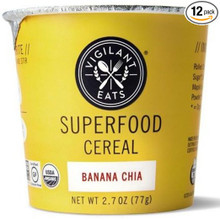 Banana Chia 12 of 2.7 OZ By VIGILANT EATS