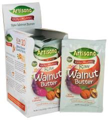 Walnut Raw Squeez Pack 10 of 1.06 OZ By ARTISANA