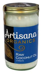 Raw Coconut Extra Virgin 6 of 14 OZ By ARTISANA