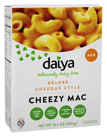 Cheddar Cheezy Mac DF GF 8 of 10.6 OZ By DAIYA