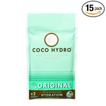 Coconut Water Original 15 of .78 OZ By COCOHYDRO
