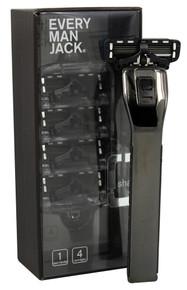 Razor Cartridge,Black,4Pack 1 CT By EVERY MAN JACK