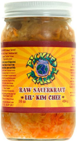 Lil` Kim Chee 6 of 16 OZ By PICKLED PLANET