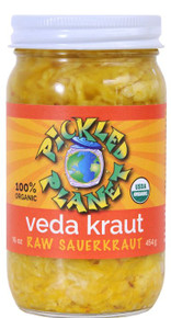 Veda Kraut 6 of 16 OZ By PICKLED PLANET
