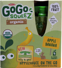 Apple Banana 12 of 4 of 3.2 OZ By GOGO SQUEEZ