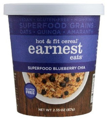 Superfood Blueberry Chia 12 of 2.35 OZ By EARNEST EATS