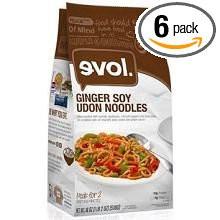 Ginger Soy Udon Noodles 6 of 18 OZ By EVOL FOODS