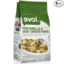 Portabella & Goat Chs Ravioli 6 of 18 OZ By EVOL FOODS