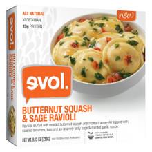 Ravioli Butternut Squash/Sage 8 of 8.13 OZ By EVOL FOODS