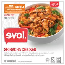 Sriracha Chicken 8 of 9 OZ By EVOL FOODS