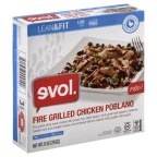 Fire Grilled Chicken Poblano 8 of 9 OZ By EVOL FOODS