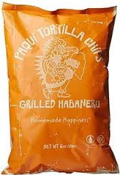 Grilled Habanero 12 of 5.5 OZ By PAQUI TORTILLA CHIPS