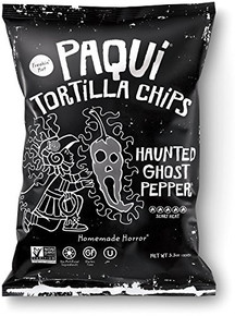 Haunted Ghost Pepper 12 of 5.5 OZ By PAQUI TORTILLA CHIPS