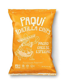 Nacho Cheese 12 of 5.5 OZ By PAQUI TORTILLA CHIPS