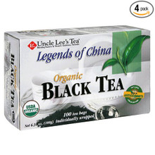 Black 100 BAG By UNCLE LEE`S TEA