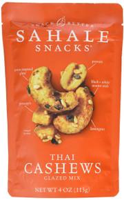 Thai Cashews 6 of 4 OZ By SAHALE SNACKS