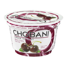 Black Cherry FOB 12 of 5.3 OZ By CHOBANI
