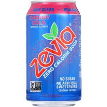 Cherry Cola 4 of 6 of 12 OZ By ZEVIA