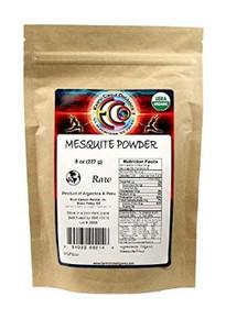 Mesquite Powder 8 OZ By EARTH CIRCLE ORGANICS
