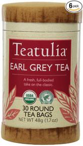 Earl Grey Tea 6 of 30 BAG By TEATULIA
