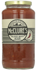 Spicy Pickled Bloody Mary Mix 6 of 32 OZ By MCCLURE`S PICKLES