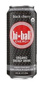 Energy,Black Cherry 12 of 16 OZ By HI*BALL