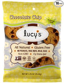 Chocolate Chip Gluten Free 24 of 1.25 OZ By LUCY`S